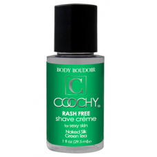 Coochy Rash Free Shaving Creme - Naked Silk Green Tea (Travel Size)