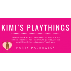 Playthings Party - Deposit Only